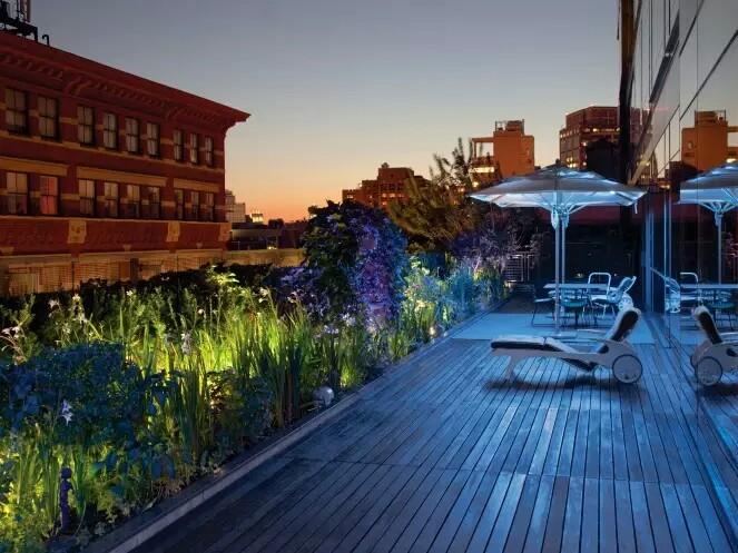 Rooftop Gardens Brooklyn New York City