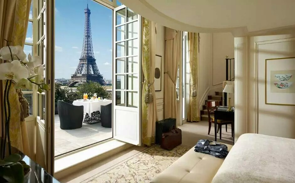 Shangri La Paris Eiffel Tower View