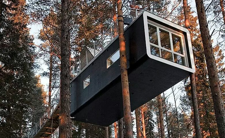 Tree-hotel Harads Sweden
