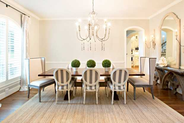 Warm Bright Dinning Room