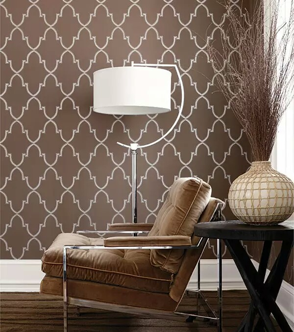 Wallpapers In Home Interiors: Gorgeous Wallpaper Design For Glamorous Interior
