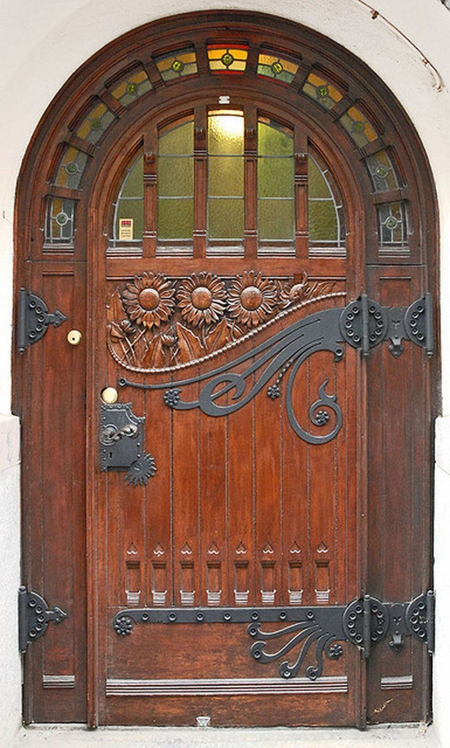 Chocolate Wooden Vintage Doors