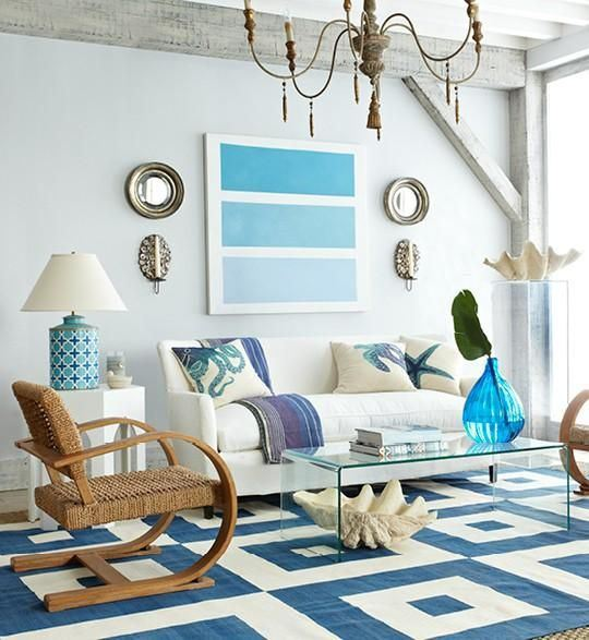 Coastal Decor Living Rooms My Decorative