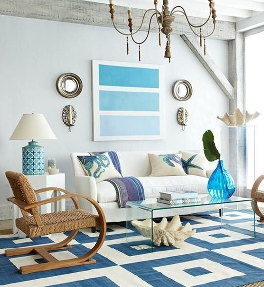 Terrific Coastal Decor Living Rooms My Decorative Largest Home Design Picture Inspirations Pitcheantrous