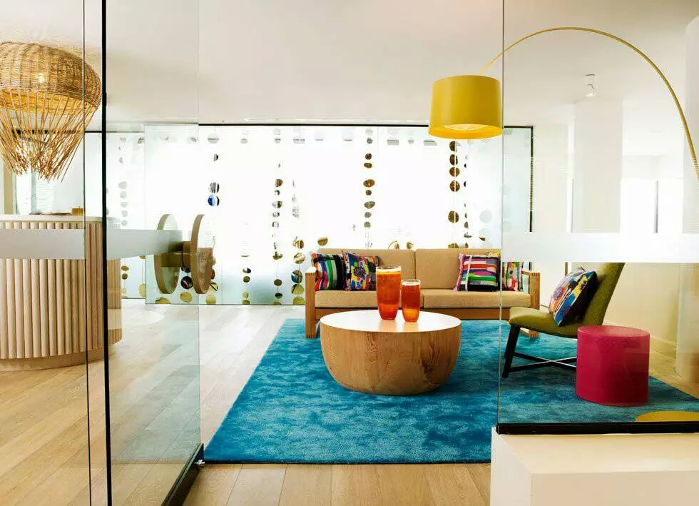 Colorful Modern Interiors