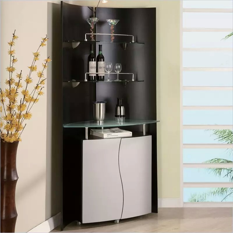 Elegant Bar Corner Bar Unit
