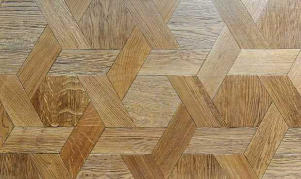 Geometric Wooden Flooring
