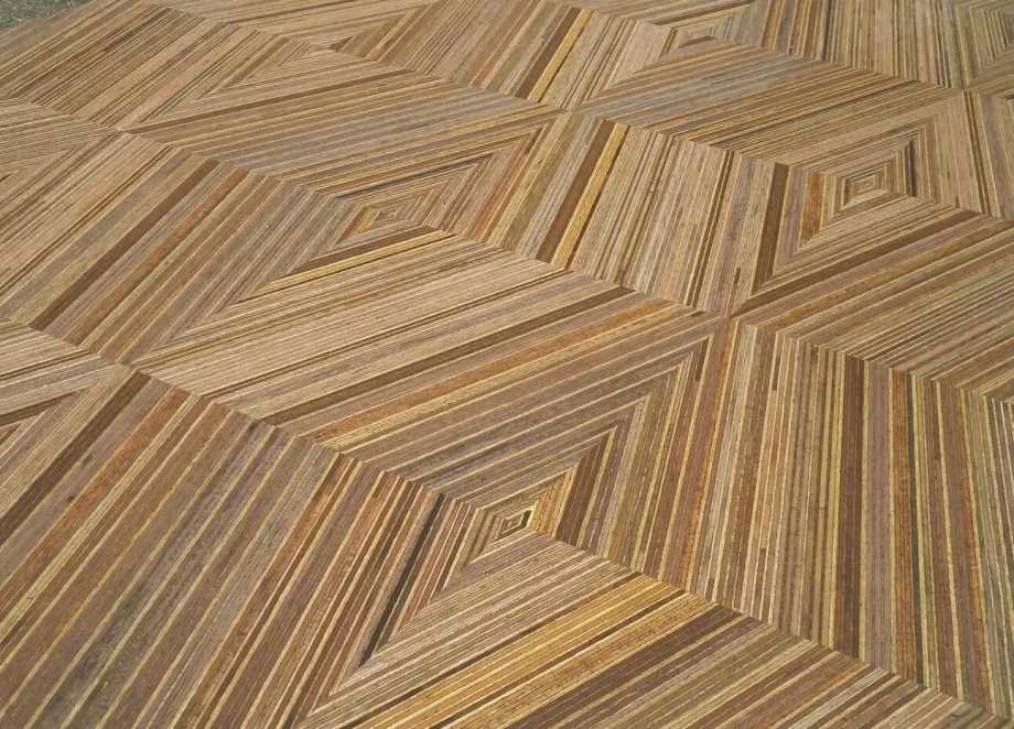 geometric wooden flooring pattern~01