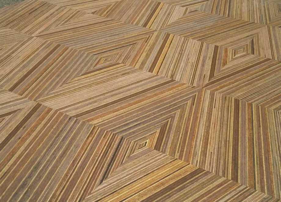 geometric wooden flooring pattern~01