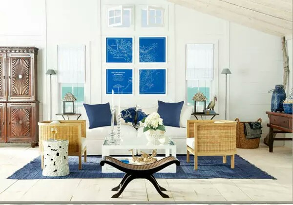 Coastal Decorating Ideas For Living Rooms: Coastal Decor Living Rooms
