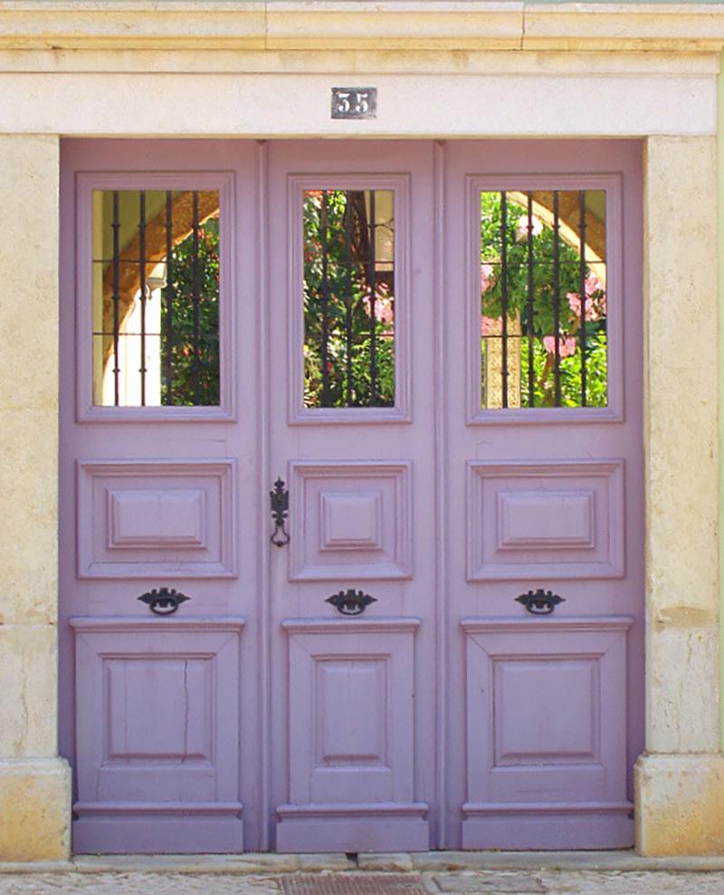 Ivory Vintage Doors