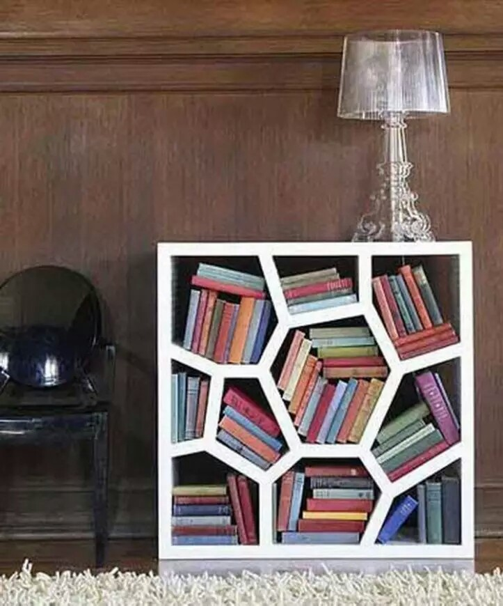 modern bookcase design