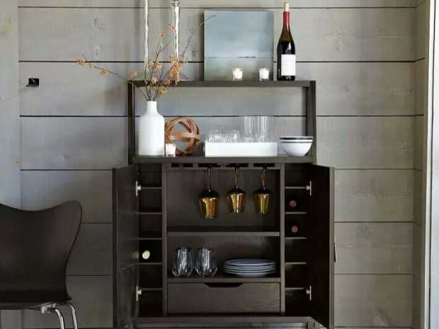 modern mini bar for home featured 620x465 - Download Modern Small Home Bar Designs  Background