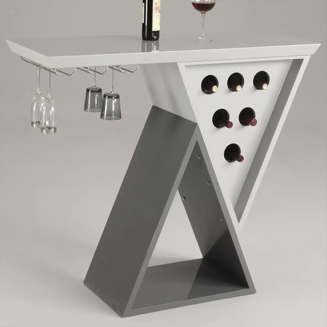 Modern Mini Wine And Bar Unit For Home