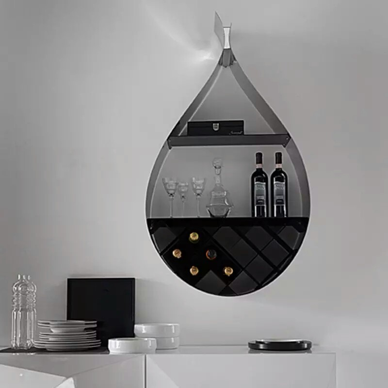 Modern Wine Rack With Elegant Color