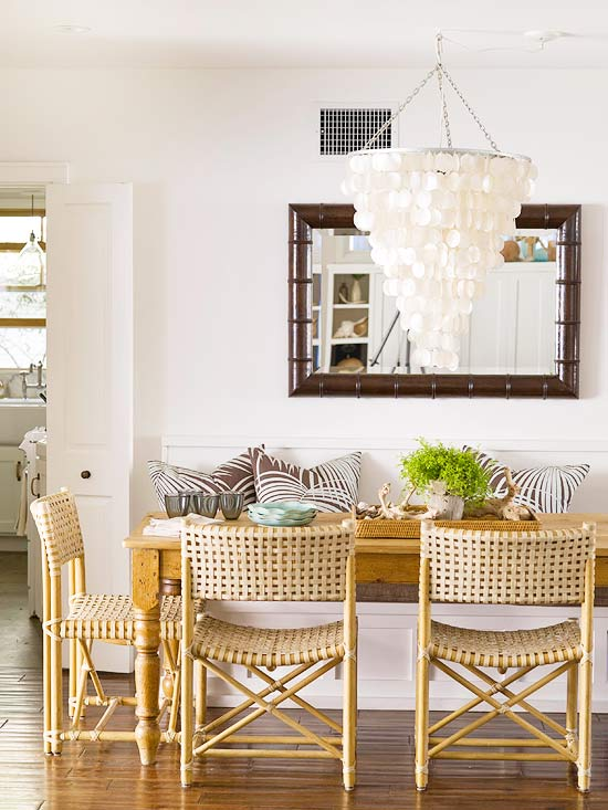 Neutral Dining Room Space