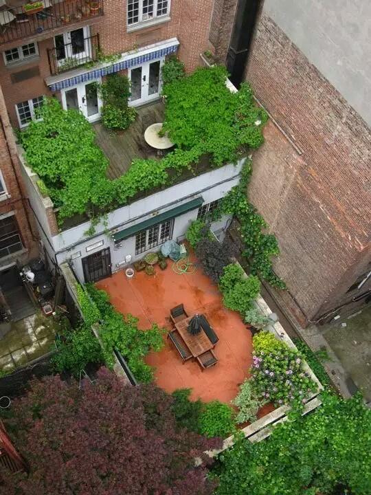 Small Terrace Garden New York