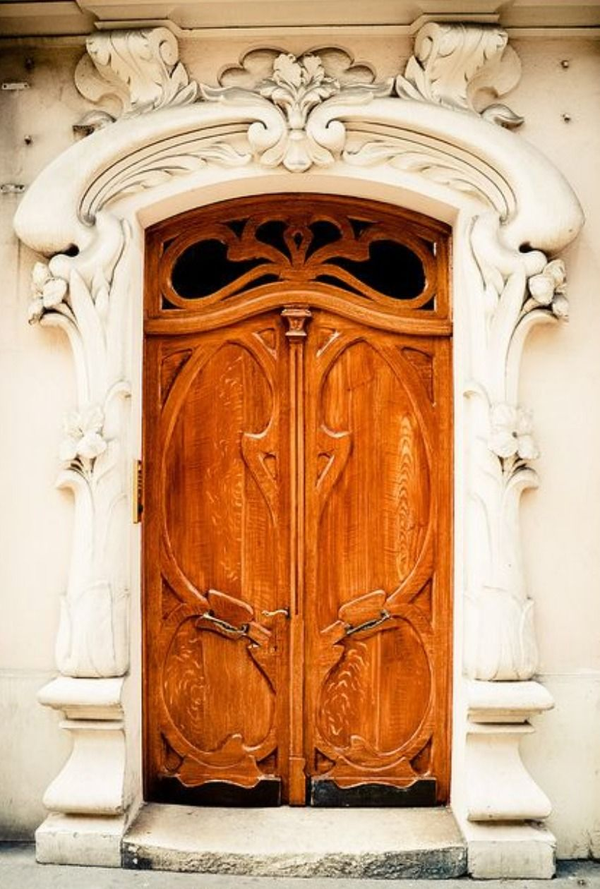 Stunning Vintage Doors Woodwork