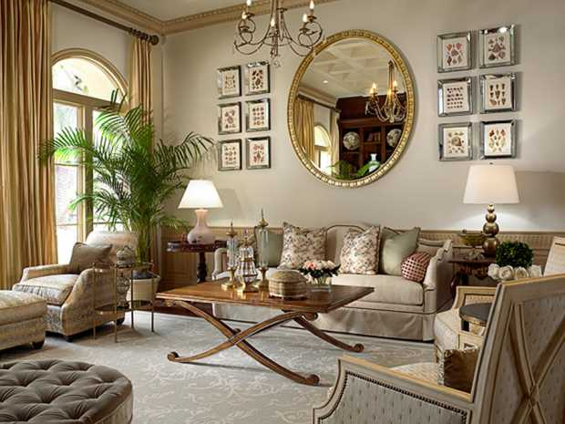 Classic Style Living Room Decoration
