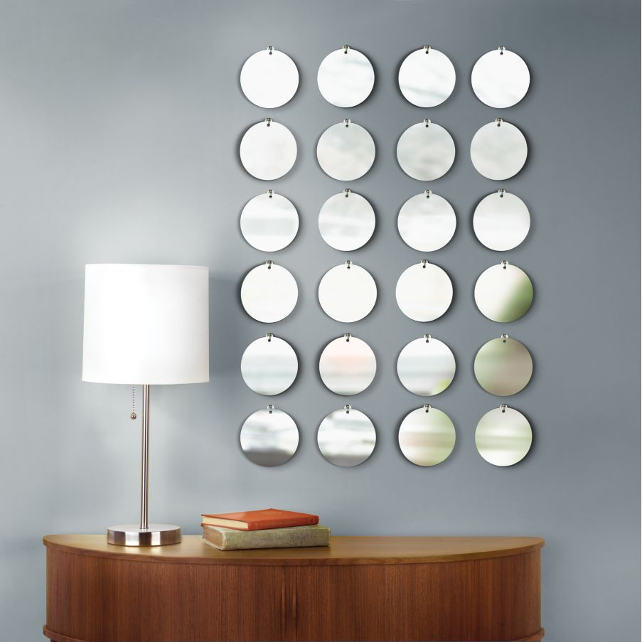 Ways to decorate bare wall my decorative for Mirror wall art