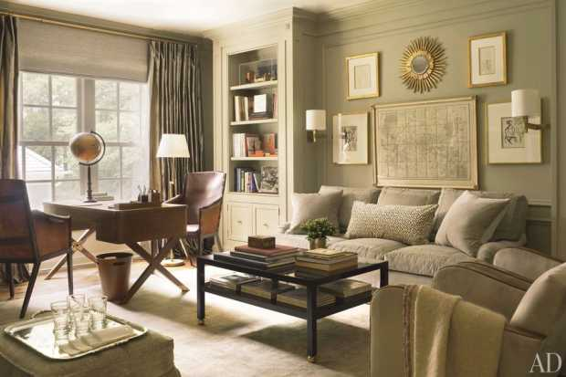 Country side elegant interior design