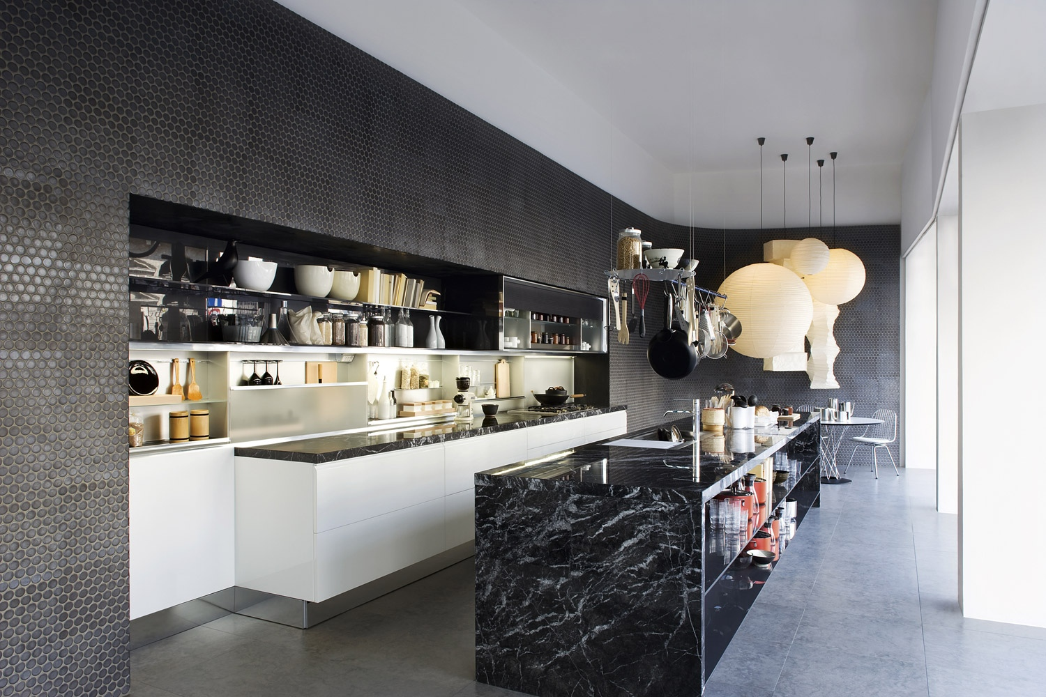 Kitchen Design Ideas With Individuality Luxurious Black Marble Kitchen Island My Decorative