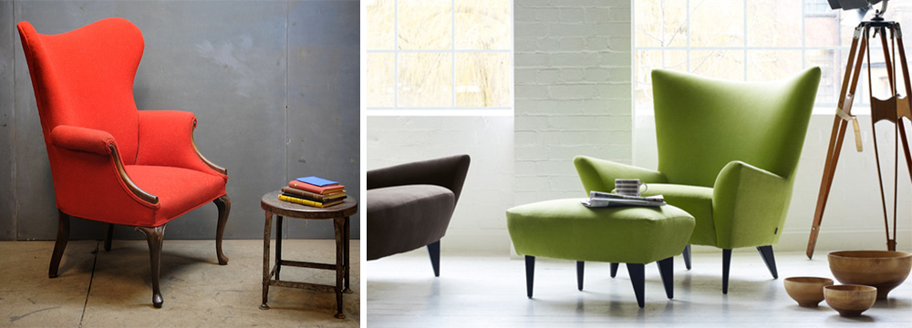 Stylish Wingback Chairs