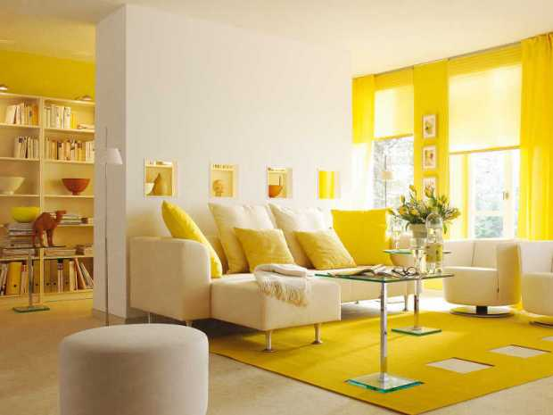 Vastu Shastra for Yellow Living Room