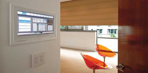 Touch Screen Audio Video Temperature Control Intercom