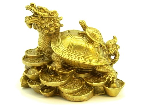 Brass Dragon Tortoise Child