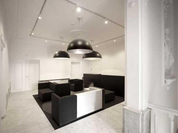 Italian Marble Office Design