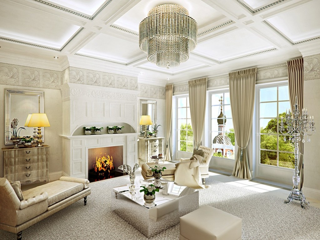 Classic Style Living Room Design