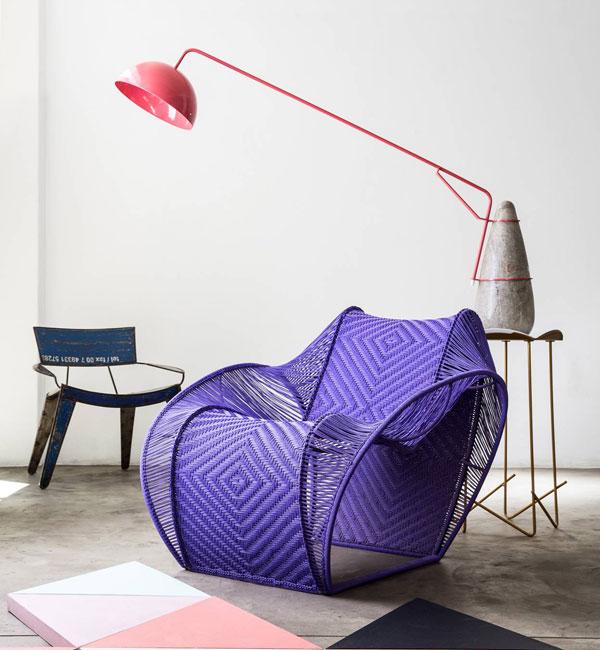 Modern Chair Clean Minimalistic Interior Design