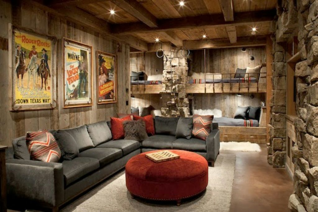 Basic styles of interior designing my decorative for Rustic style interior