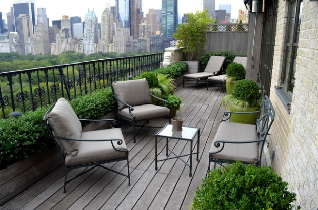 Balcony Garden Design balcony garden design pictures Gray Sofa And Relax Chairs Design