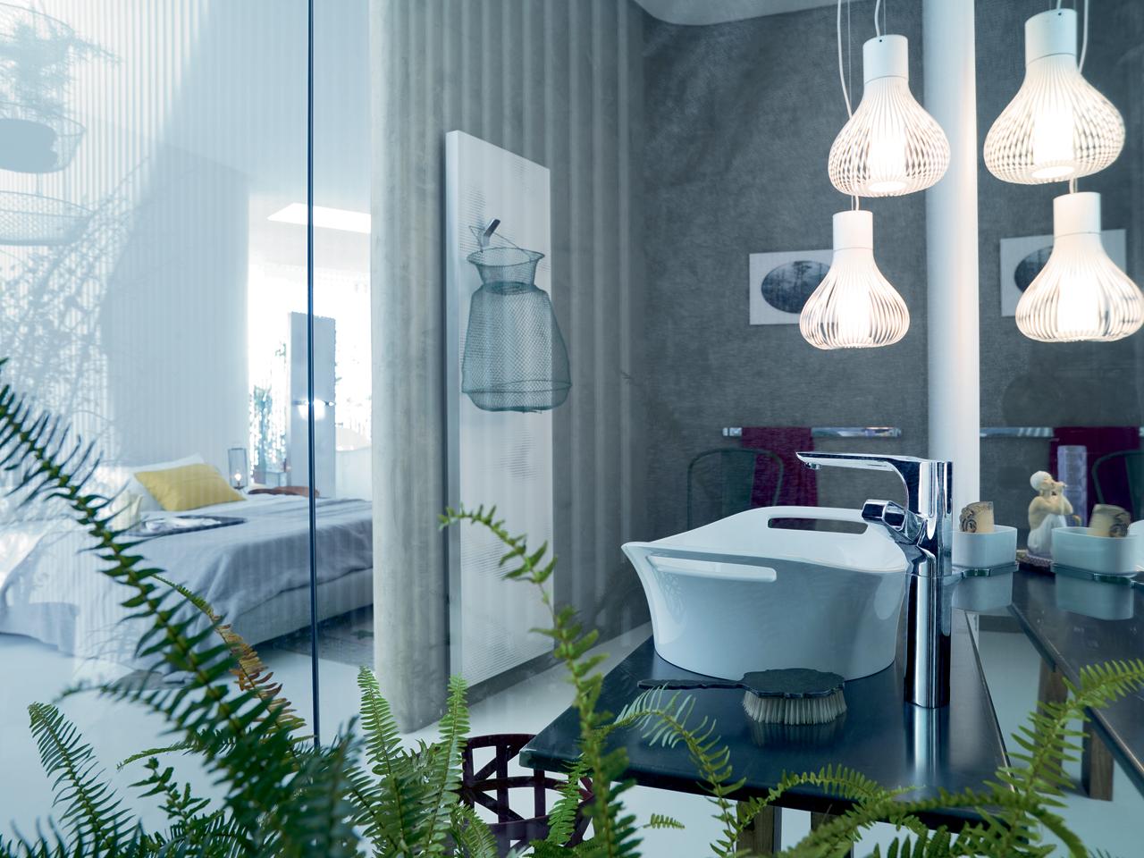 Asian Ultra Modern Bathroom
