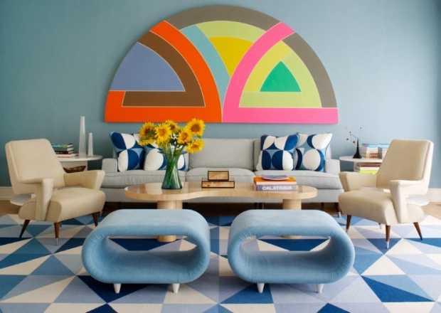 English Color Interiors Retro