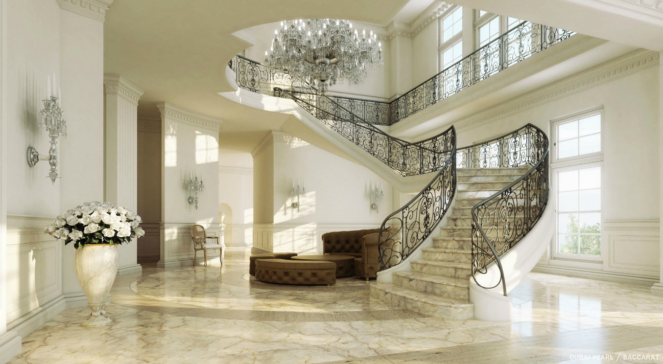 Grand Luxury Mansion Interiors