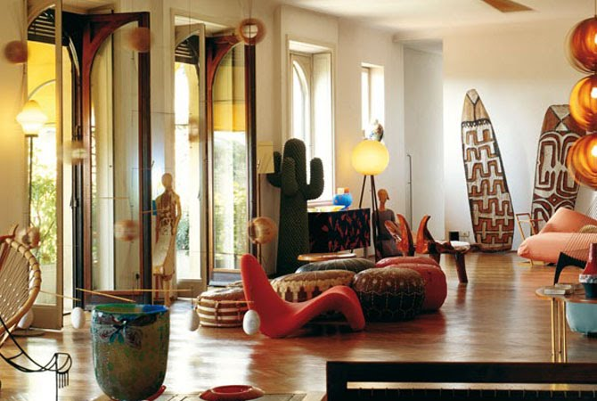 Ethnic interior design my decorative for Home interior design idea
