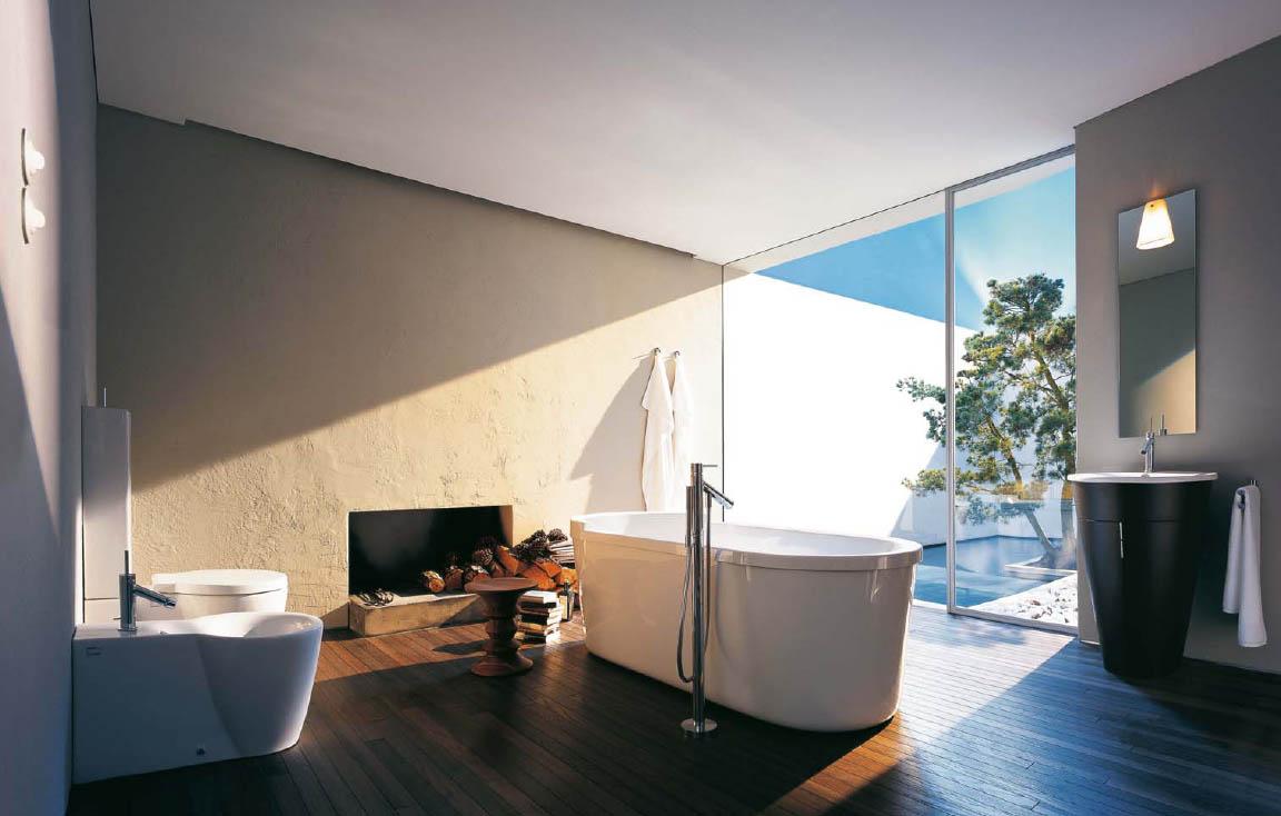 Casual Ultramodern Bathroom Idea