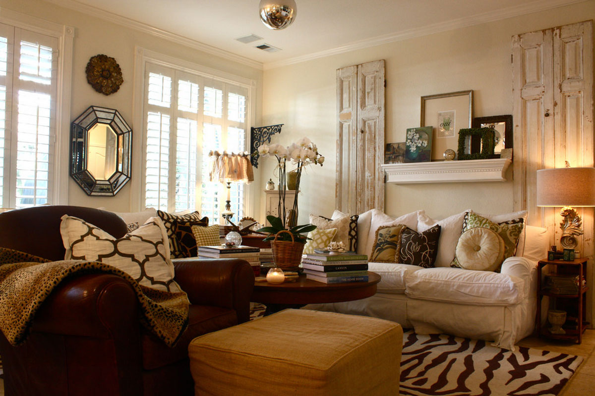Vintage interior design part 3 my decorative for Comfy family room ideas