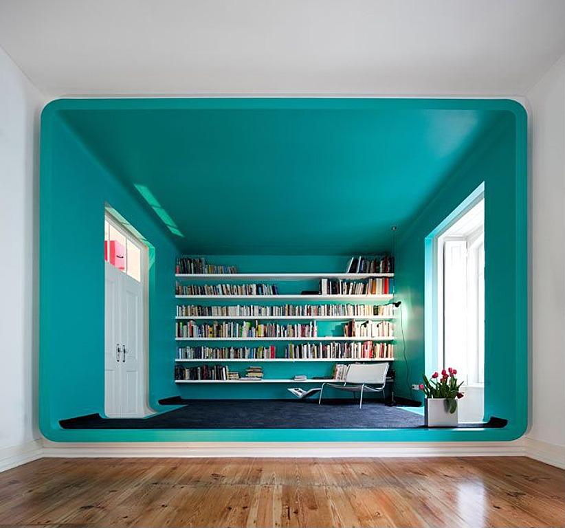 English Turquoise Modern Interiors