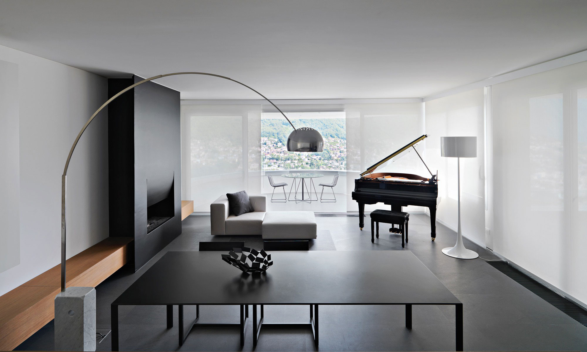 luxury and classy living rooms with piano. Black Bedroom Furniture Sets. Home Design Ideas