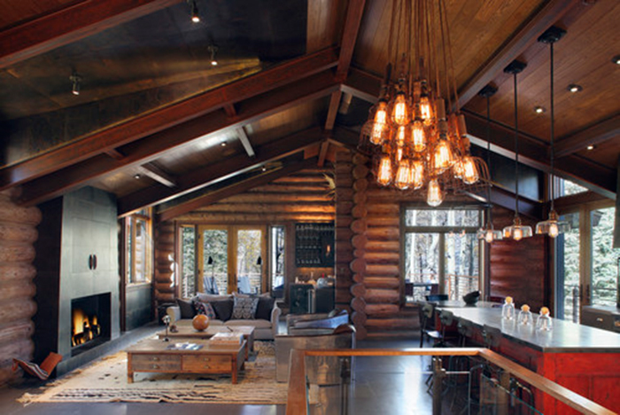 Rustic Lving Room