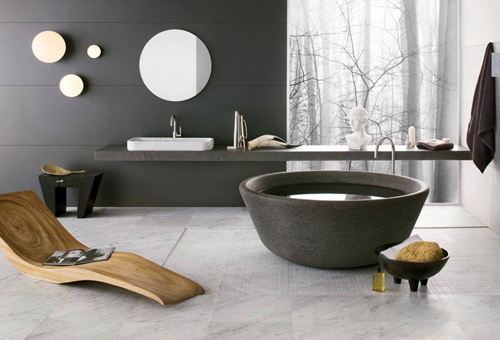 Spectacular Design Modern Bathrooms Ideas
