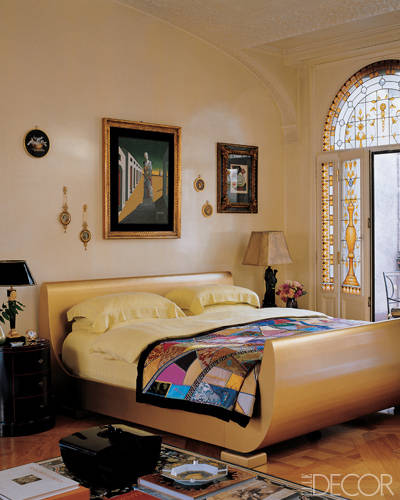 The Master Bedroom of Donatella Versace