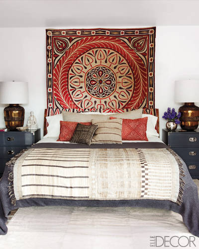 The Master Bedroom of Ellen Pompeo