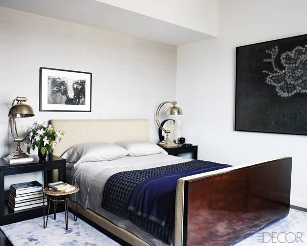 elle decor bedrooms. The Master Bedroom of Hilary Swan Celebrity Luxury Interior Design Bedrooms  My Decorative