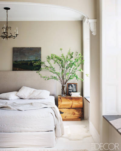 The Master Bedroom of Keri Russell