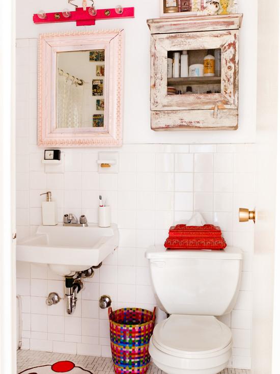 Vanity Shadows in Bathroom